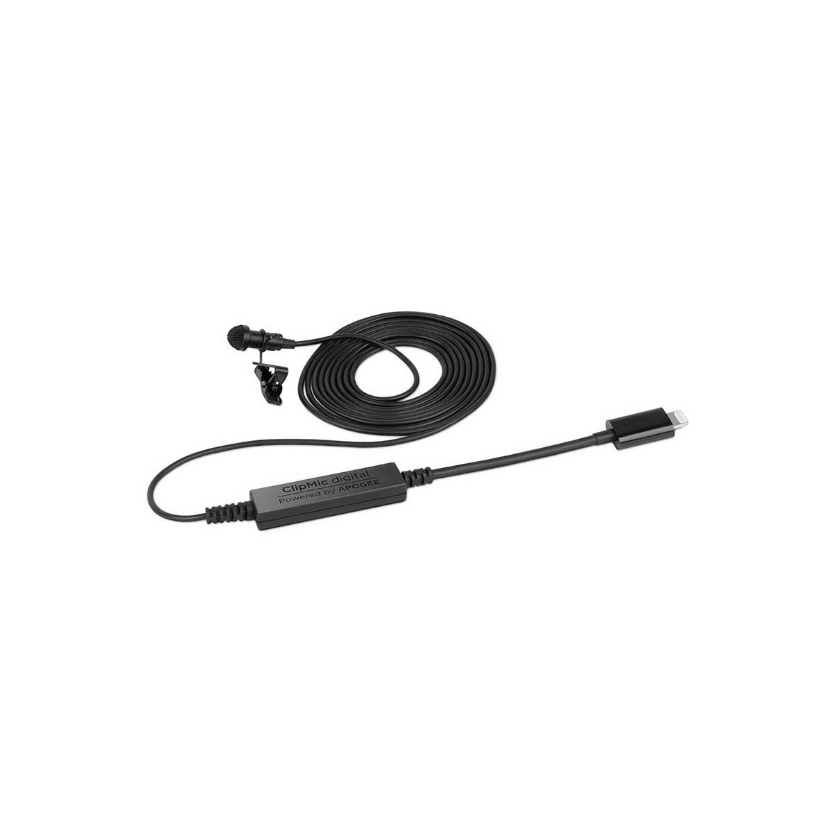Apogee ClipMic digital Premium Lavalier Microphone for iPhone and iPad