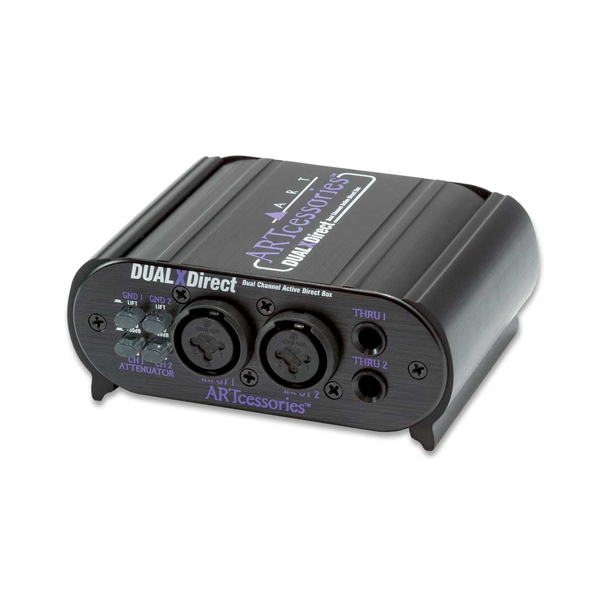 ART DUALXDirect Dual Channel Active Direct Box