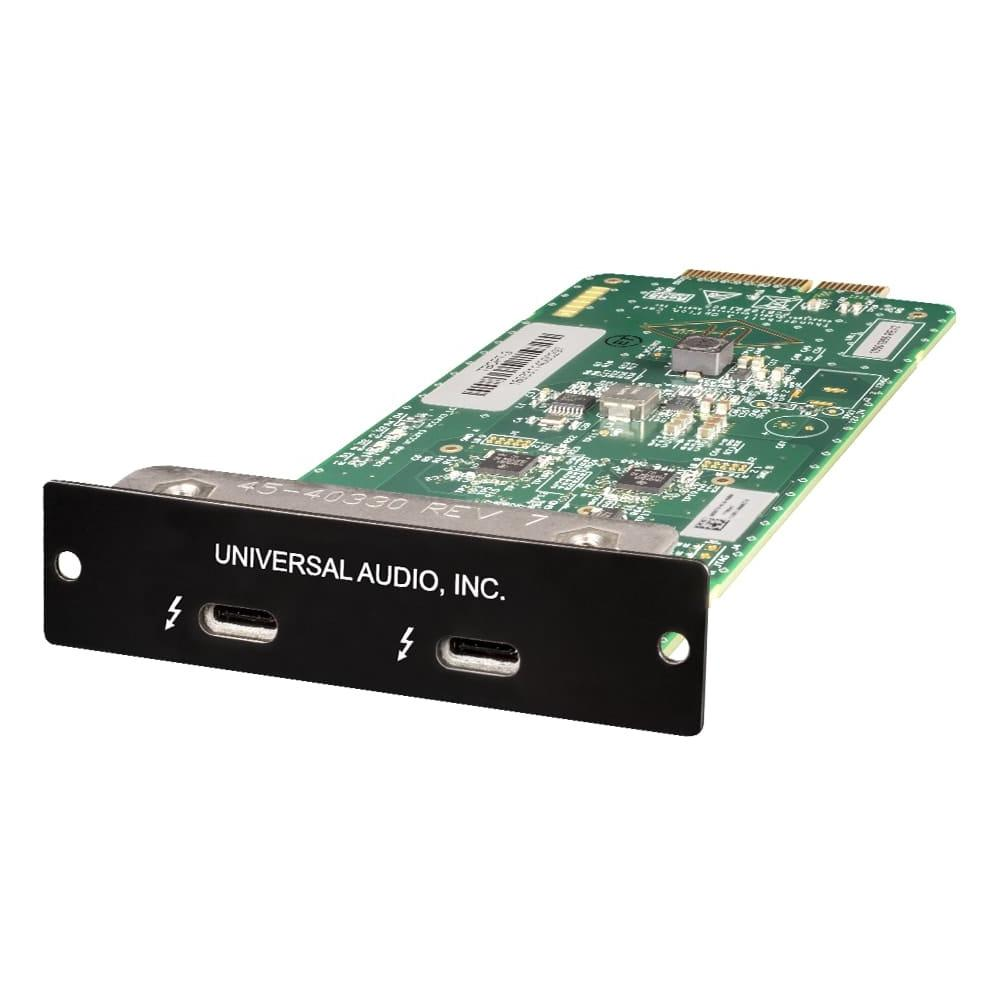 Audio Interface Accessories - Universal Audio Thunderbolt 3 Option Card For Apollo Rack-mount Interfaces