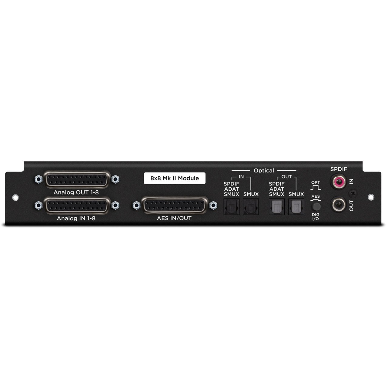 Audio Interface Expansion Cards - Apogee Symphony 8×8 Analog I/O + 8×8 AES/Optical I/O (Mk II) Module