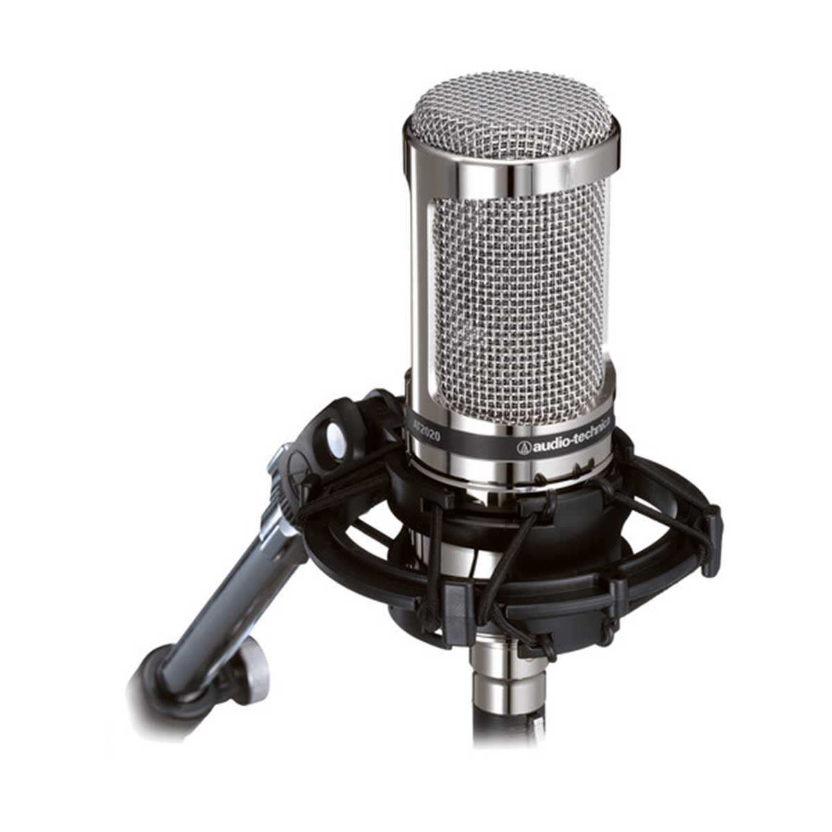 Audio-Technica AT2020V Limited Edition Cardioid Condenser Microphone with Shock Mount