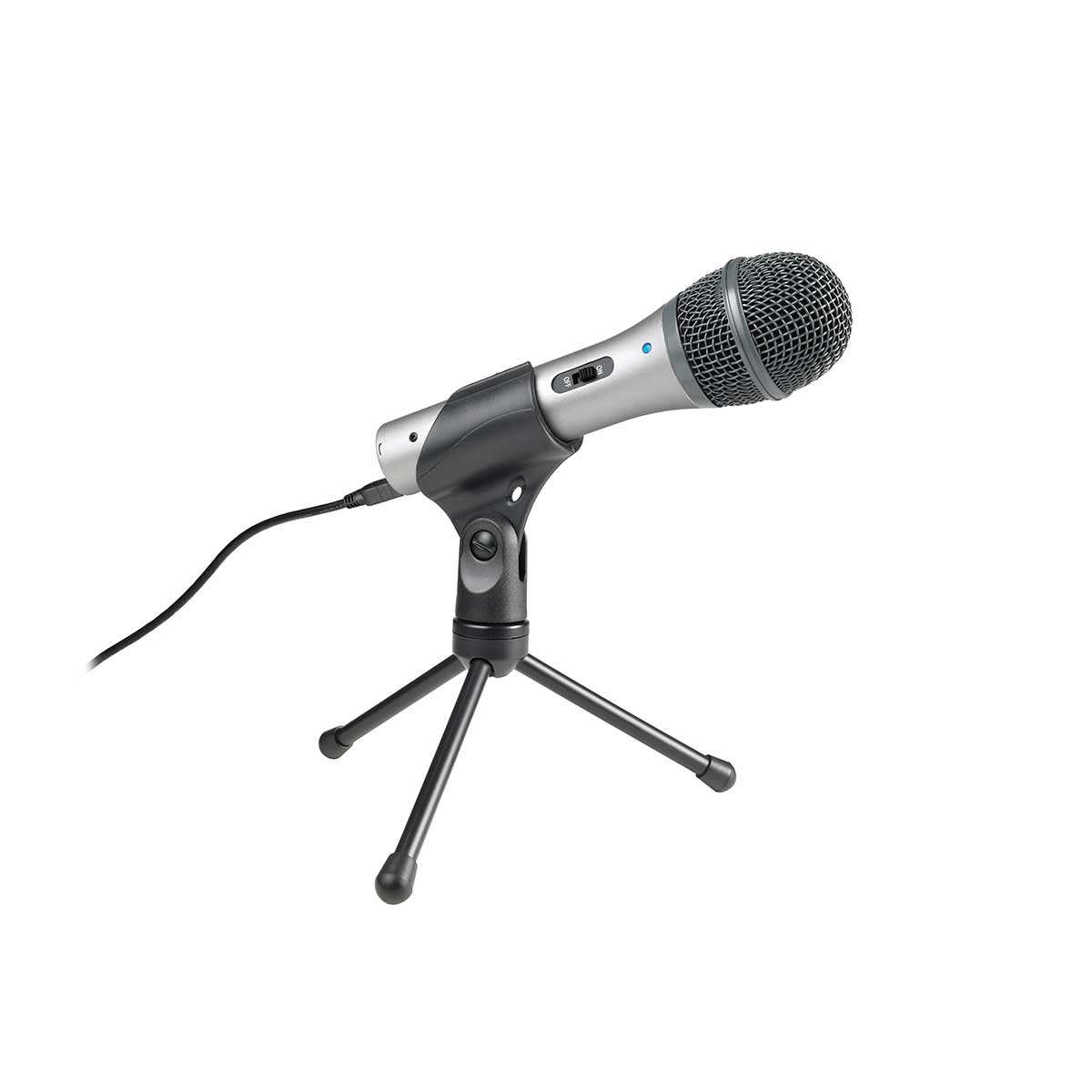 Audio-Technica ATR2100-USB Cardioid Dynamic USB/XLR Microphone