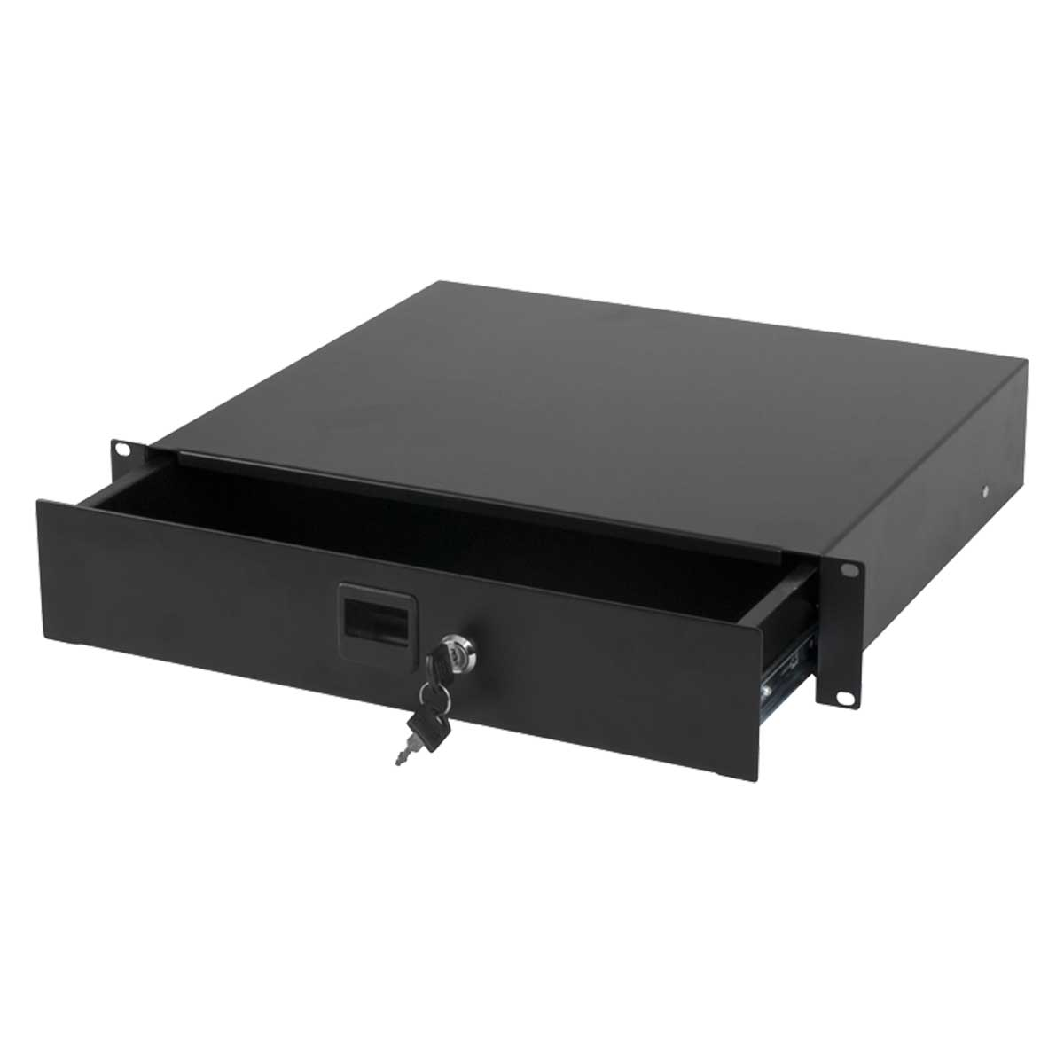 "Australian Monitor RNRDR2U  Roadcase 19"" 2Ru Drawer"