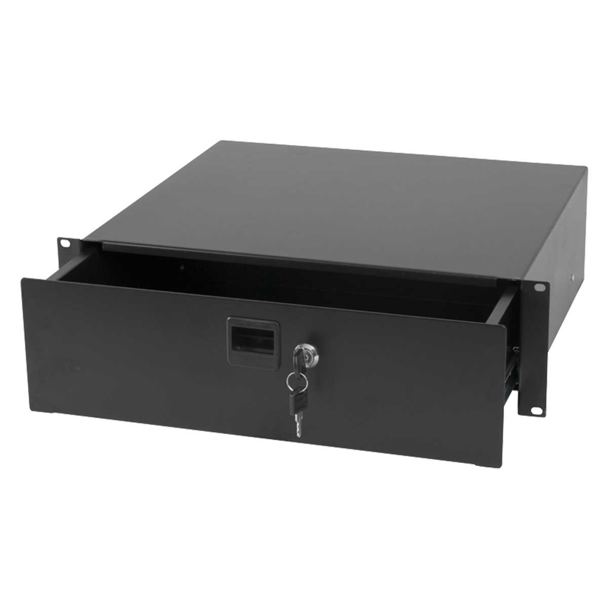 "Australian Monitor RNRDR3U Roadcase 19"" 3Ru Drawer"