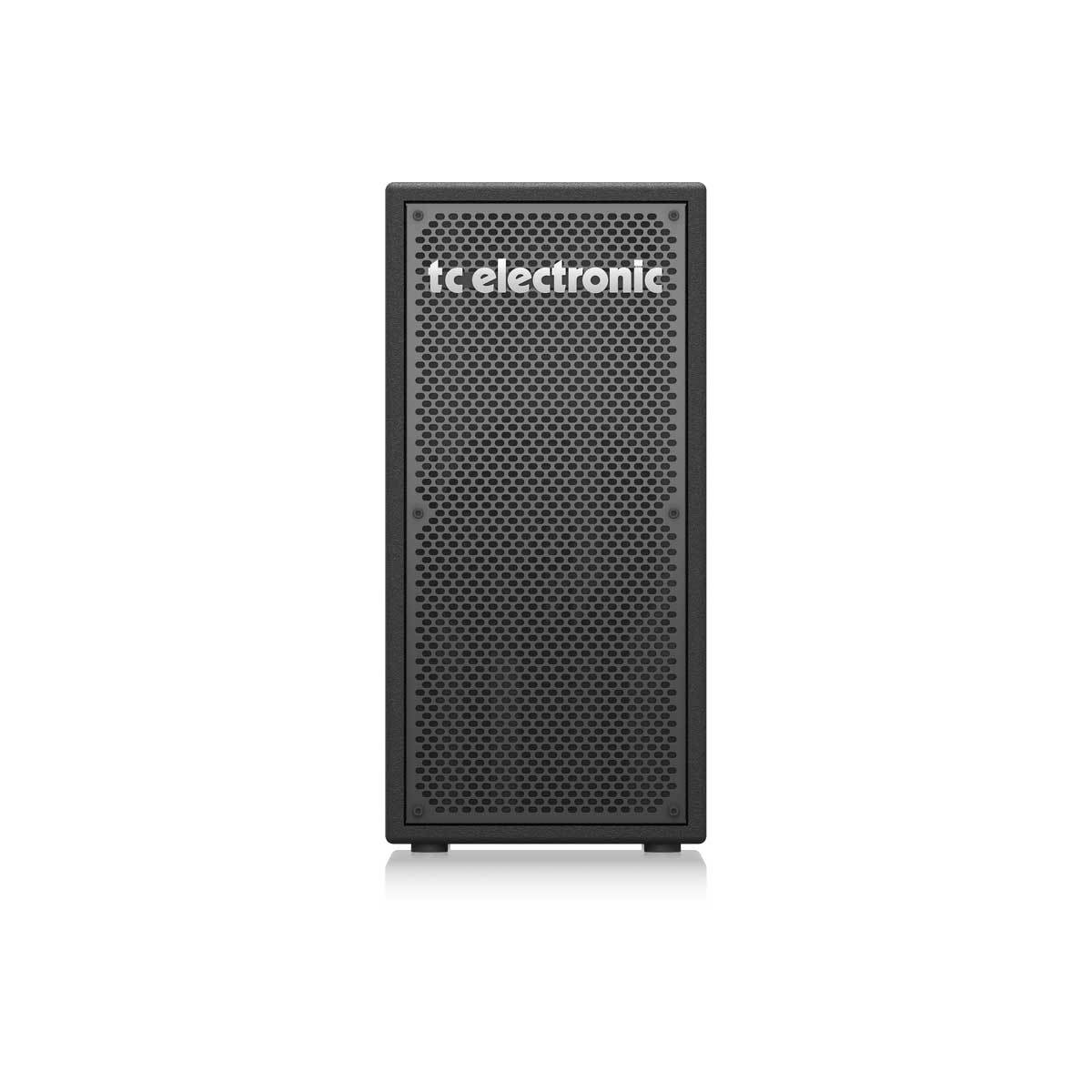 "TC Electronic BC208 - Vertical 200 Watt 2 x 8"" Portable Bass Cabinet"