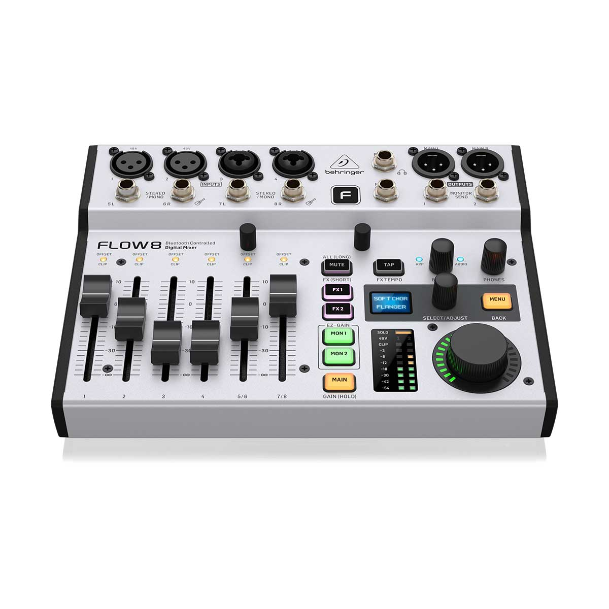 Behringer Flow-8 8 Channel Digital USB Mixer with Bluetooth