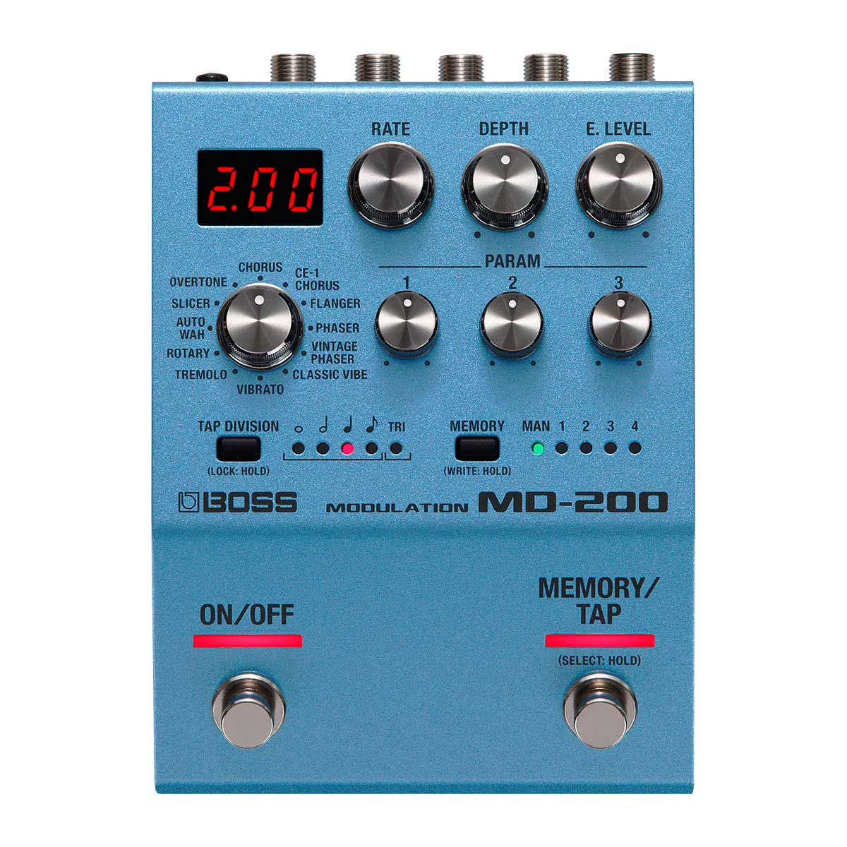 BOSS MD-200 Modulation Pedal Top