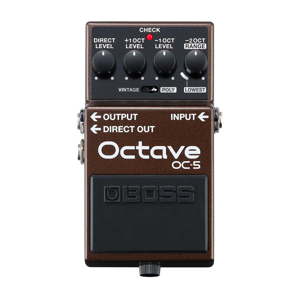 Boss OC-5 Octave Guitar Effects Pedal