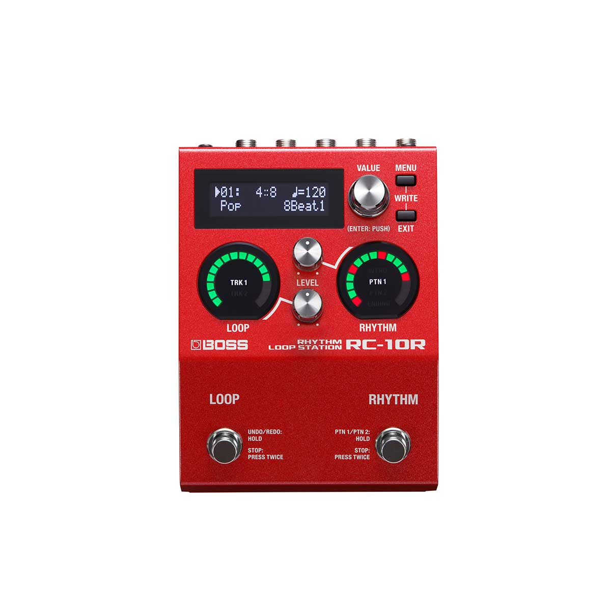 BOSS RC-10R Rhythm Loop Station Top