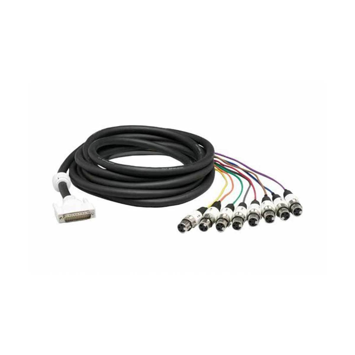 Cables & Adapters - Lynx CBL-AIN85 - Eight-Channel XLR Analog Input Cable For Aurora Converters