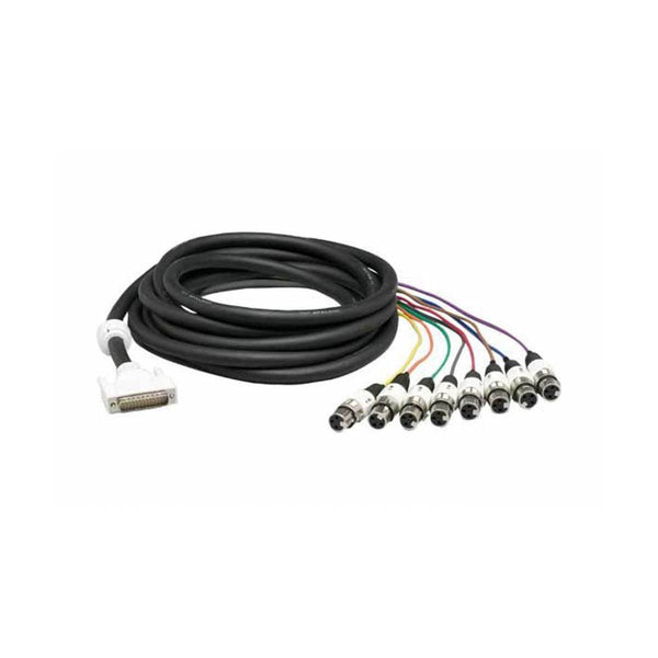 Eight-Channel XLR Analog Input Cable For