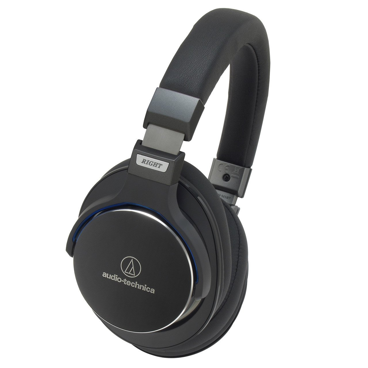 Audio-Technica ATH-MSR7 Hi-Res Headphones With Smartphone Control
