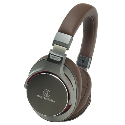 Closed Headphones - Audio-Technica ATH-MSR7 Hi-Res Headphones With Smartphone Control