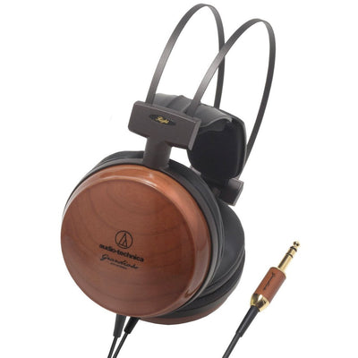 Closed Headphones - Audio-Technica ATH-W1000X Premium Cherry Wood Headphones