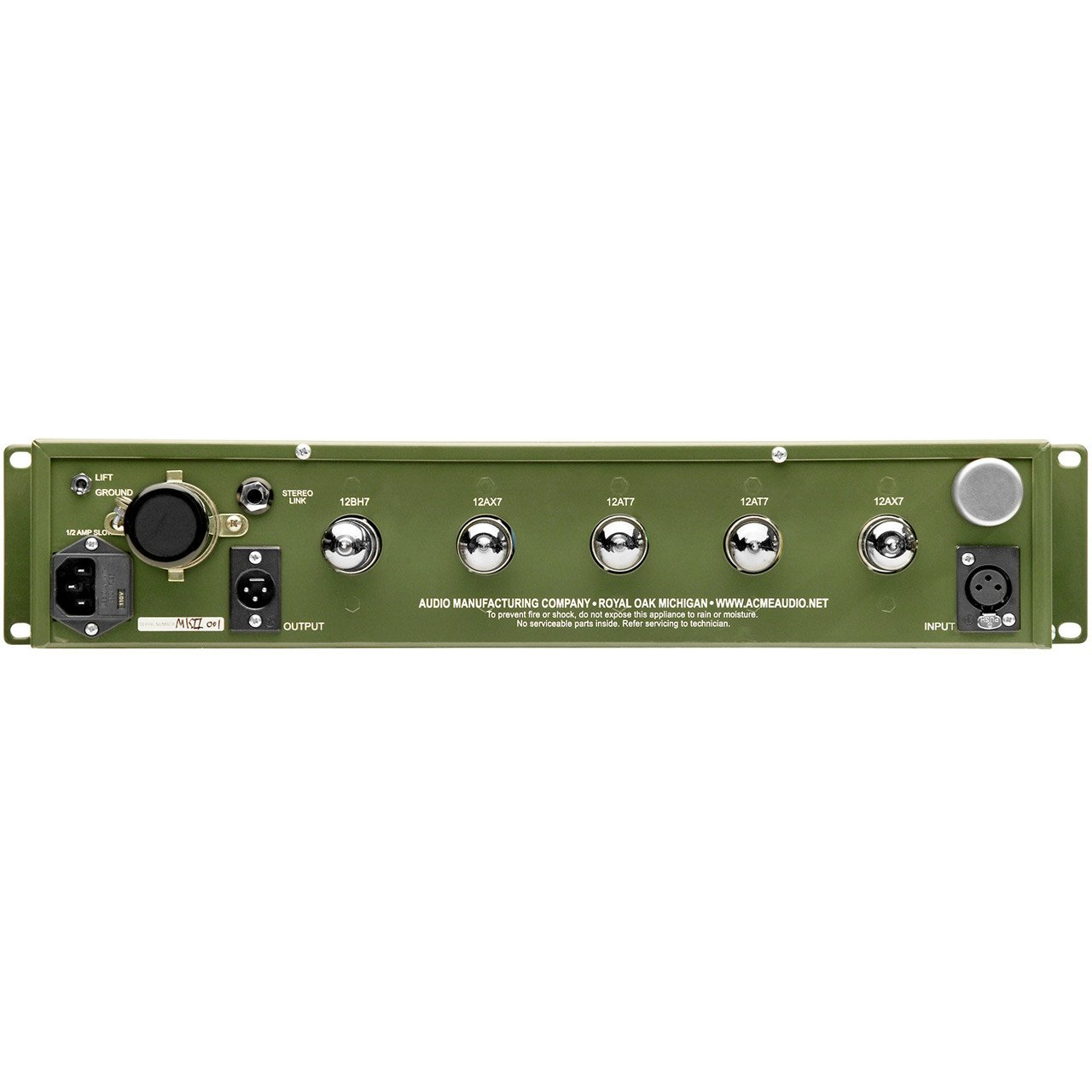 Acme Audio Opticom MKII XLA-3 All-Tube Optical Compressor