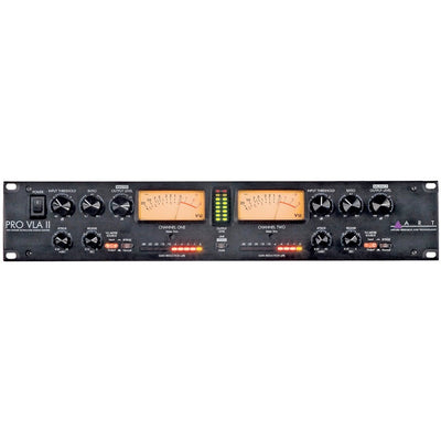 Compressors/Limiters - ART Pro VLA II Two Channel Vactrol-based Compressor