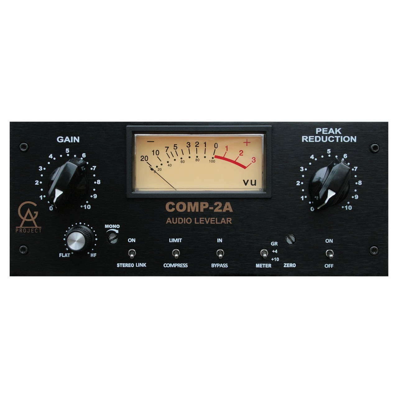 Compressors/Limiters - Golden Age Project COMP-2A Vacuum Tube Compressor / Levelling Amplifier