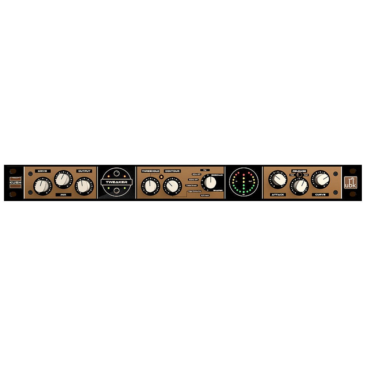 Compressors/Limiters - Kush Audio UBK Tweaker Sidechain Shaping Compressor
