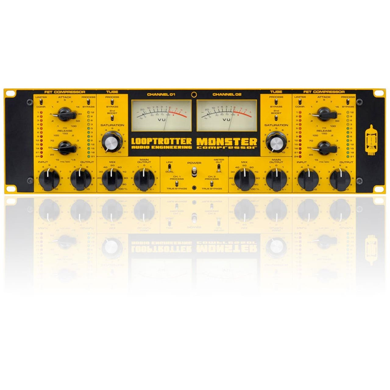 Looptrotter Audio MONSTER - 2 Channel Compressor with Tube Saturation