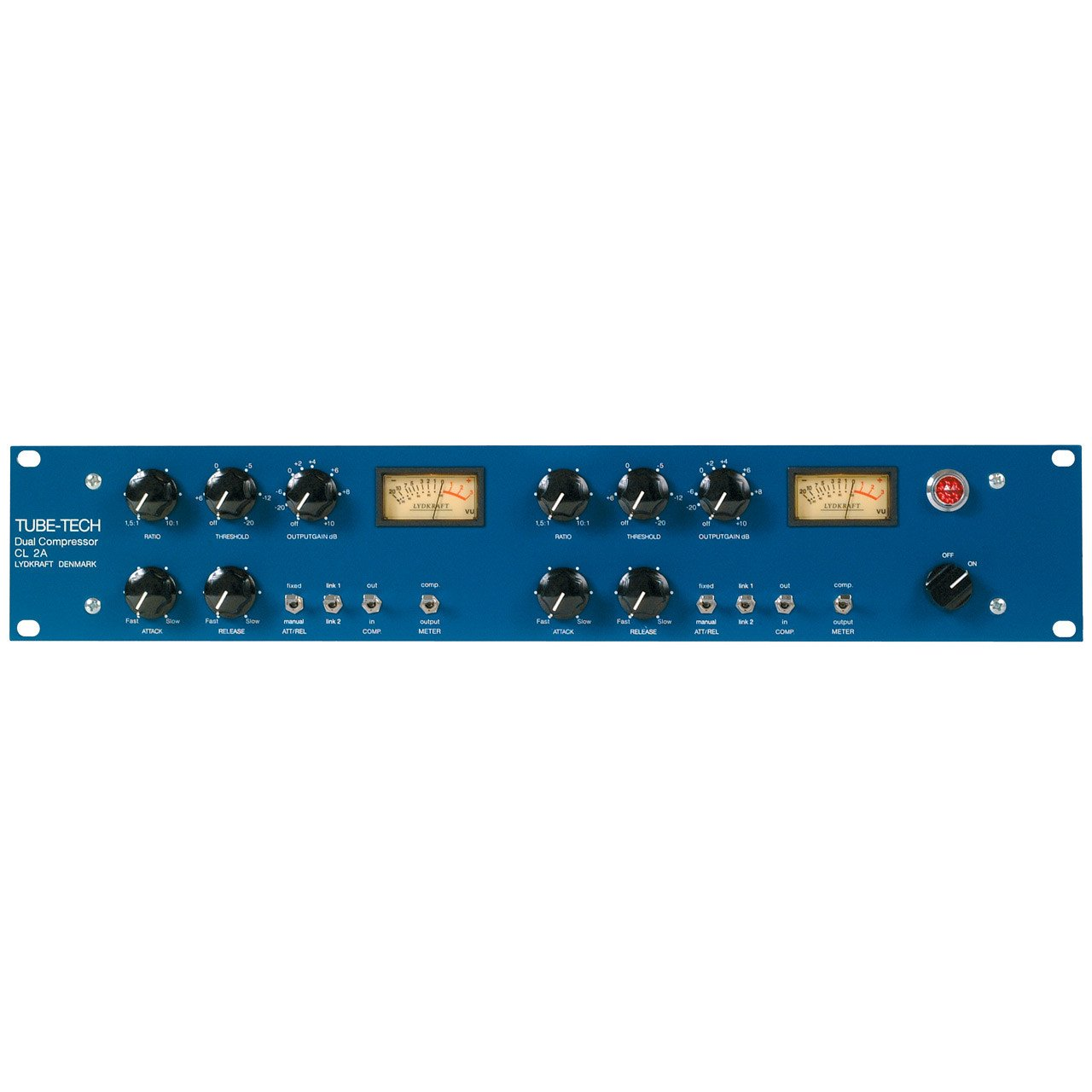 Compressors/Limiters - TUBE-TECH CL2A All-tube Dual Optical Compressor