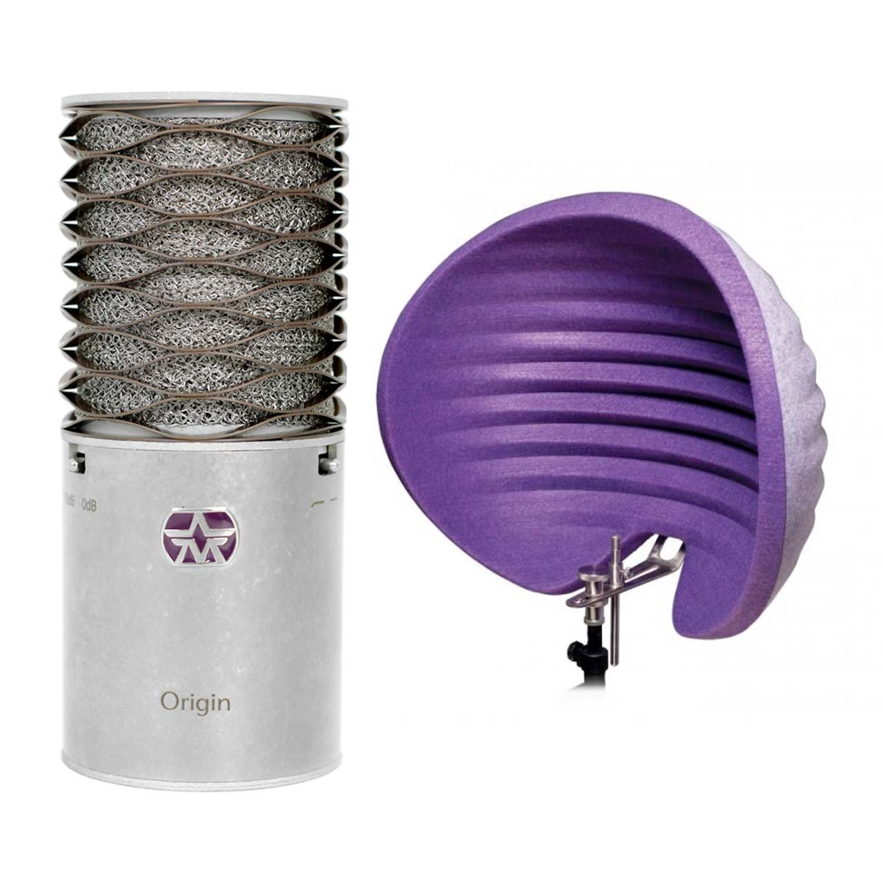 Condenser Microphones - Aston Origin Cardioid Condenser Microphone + Halo Reflection Filter