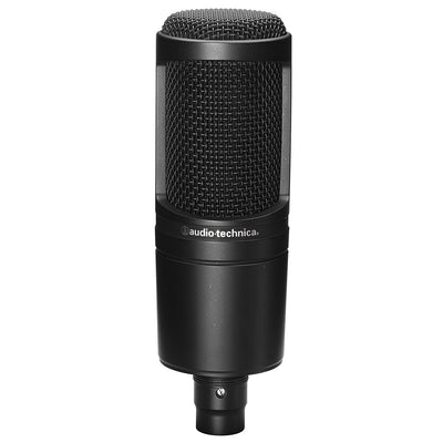 Condenser Microphones - Audio-Technica AT2020 Studio Condenser Microphone
