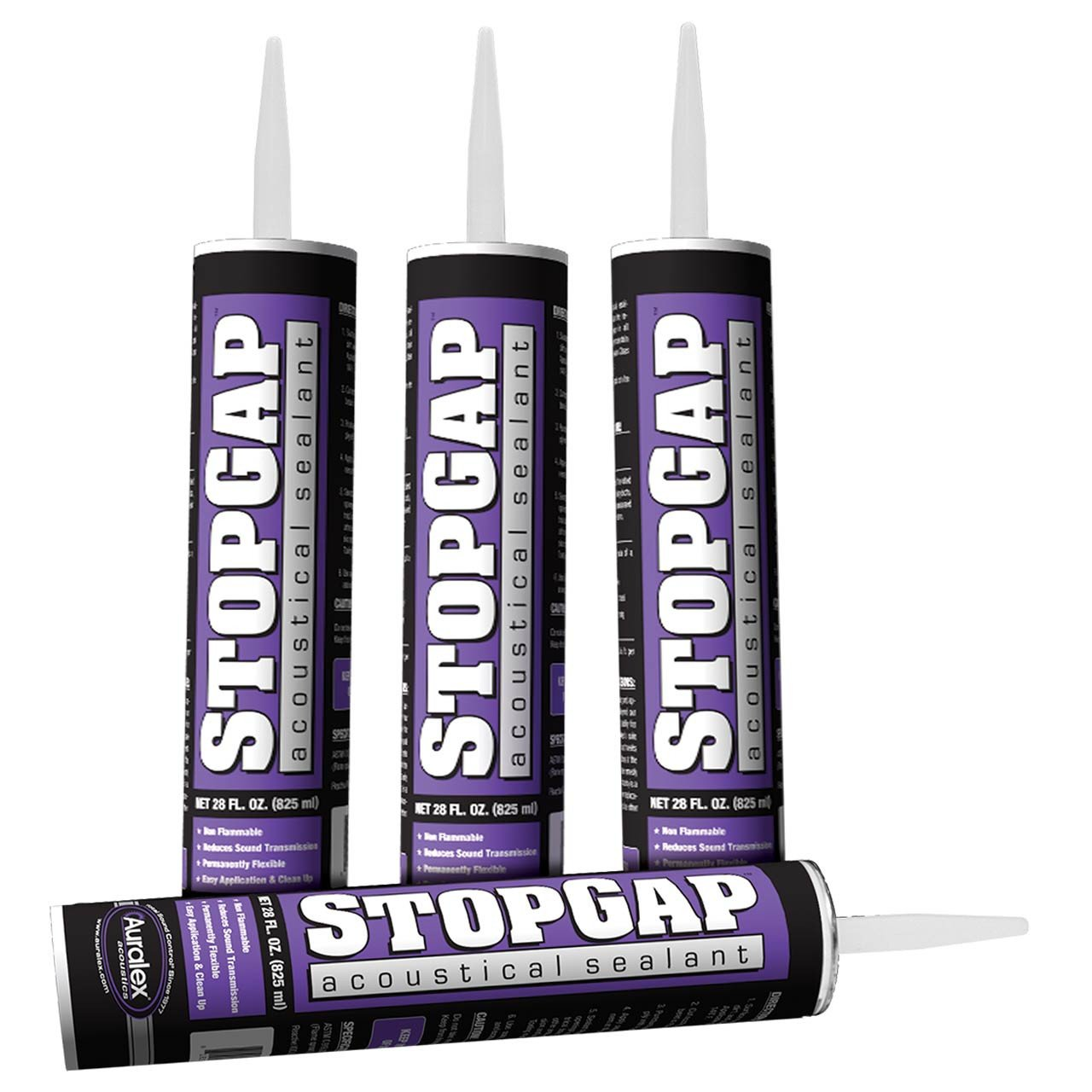 Construction Products - Auralex StopGap Sealant - 1 Tube