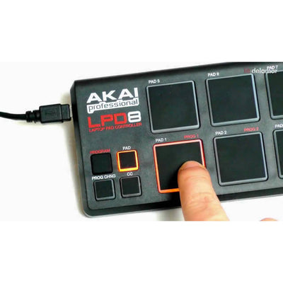 Control Surfaces - AKAI LPD8 Laptop Pad Controller