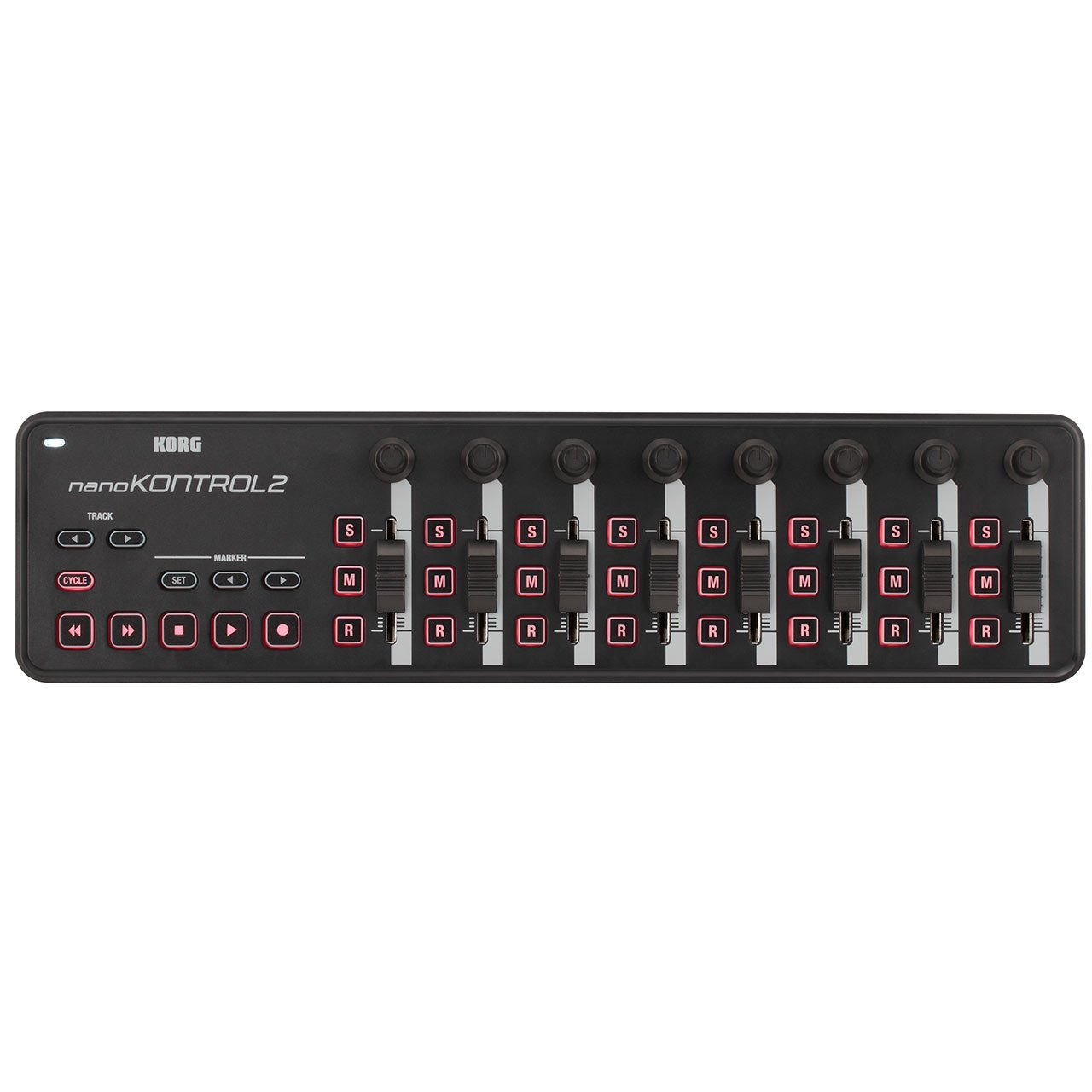 Control Surfaces - Korg NanoKONTROL 2 Slim-Line USB Control Surface BLACK
