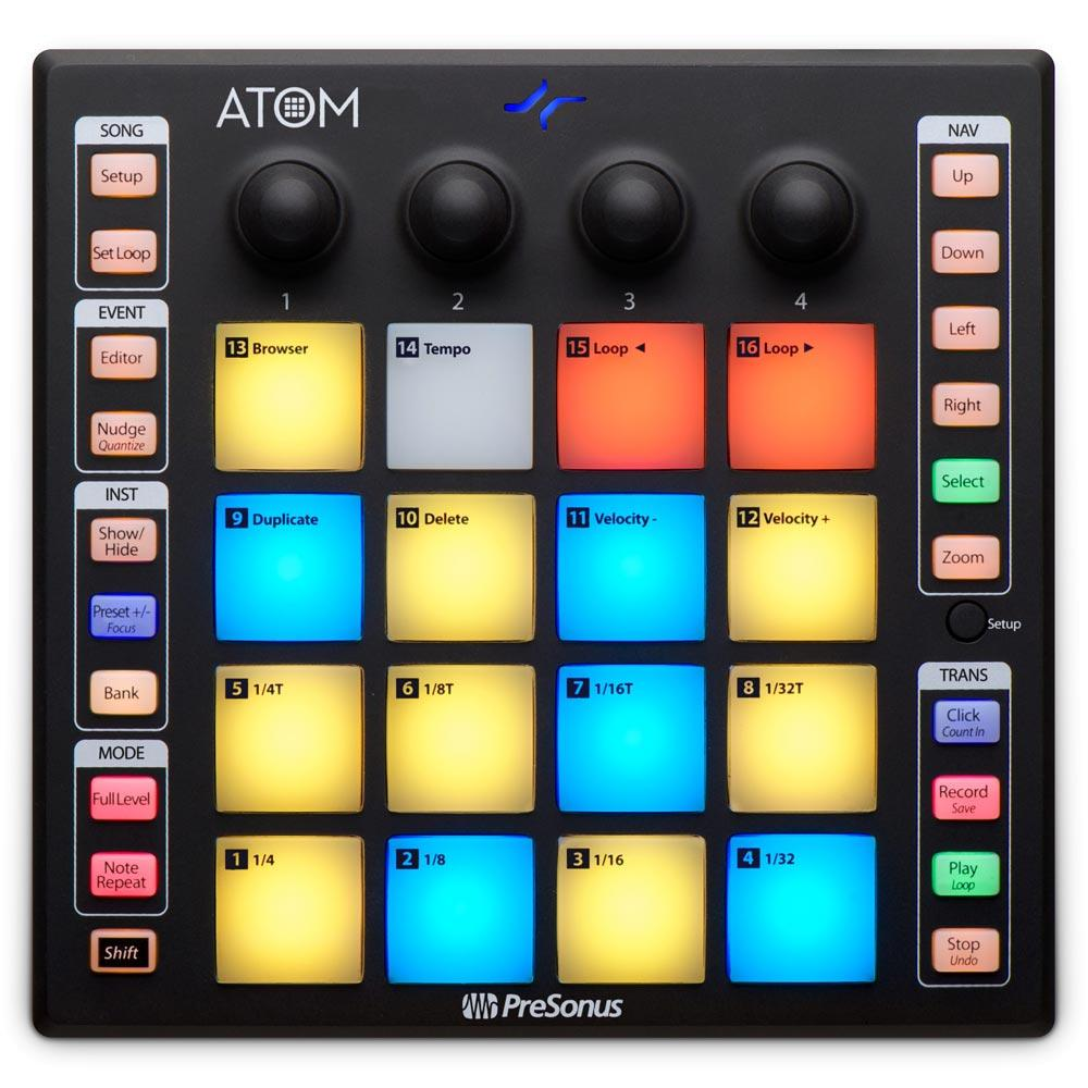Control Surfaces - Presonus ATOM Production And Performance Pad Controller
