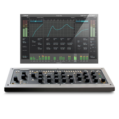 Control Surfaces - Softube Console 1 MKII - Integrated Hardware/Software Mixer