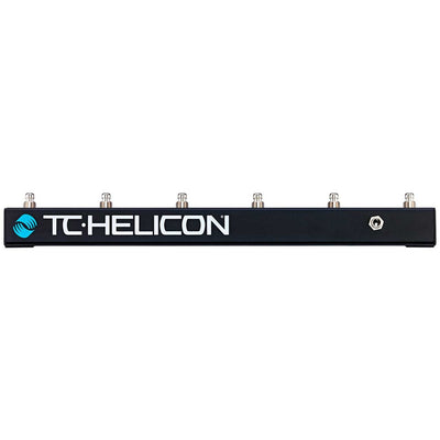 Controller Accessories - TC Helicon Switch-6 Six Button Footswitch