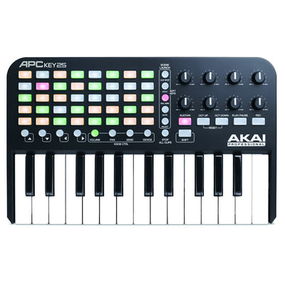 Controller Keyboards - Akai APC Key 25 - Ableton Live Controller With Keyboard