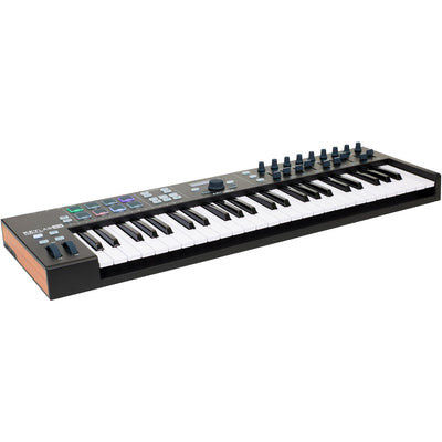 Controller Keyboards - Arturia KeyLab Essential 49 Black Edition USB MIDI Controller Keyboard