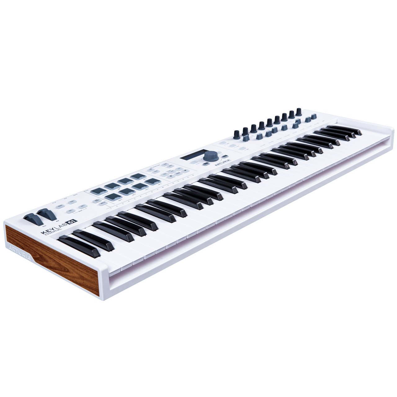 arturia keylab essential 61 semi weighted usb midi controller keyboard sounds easy. Black Bedroom Furniture Sets. Home Design Ideas