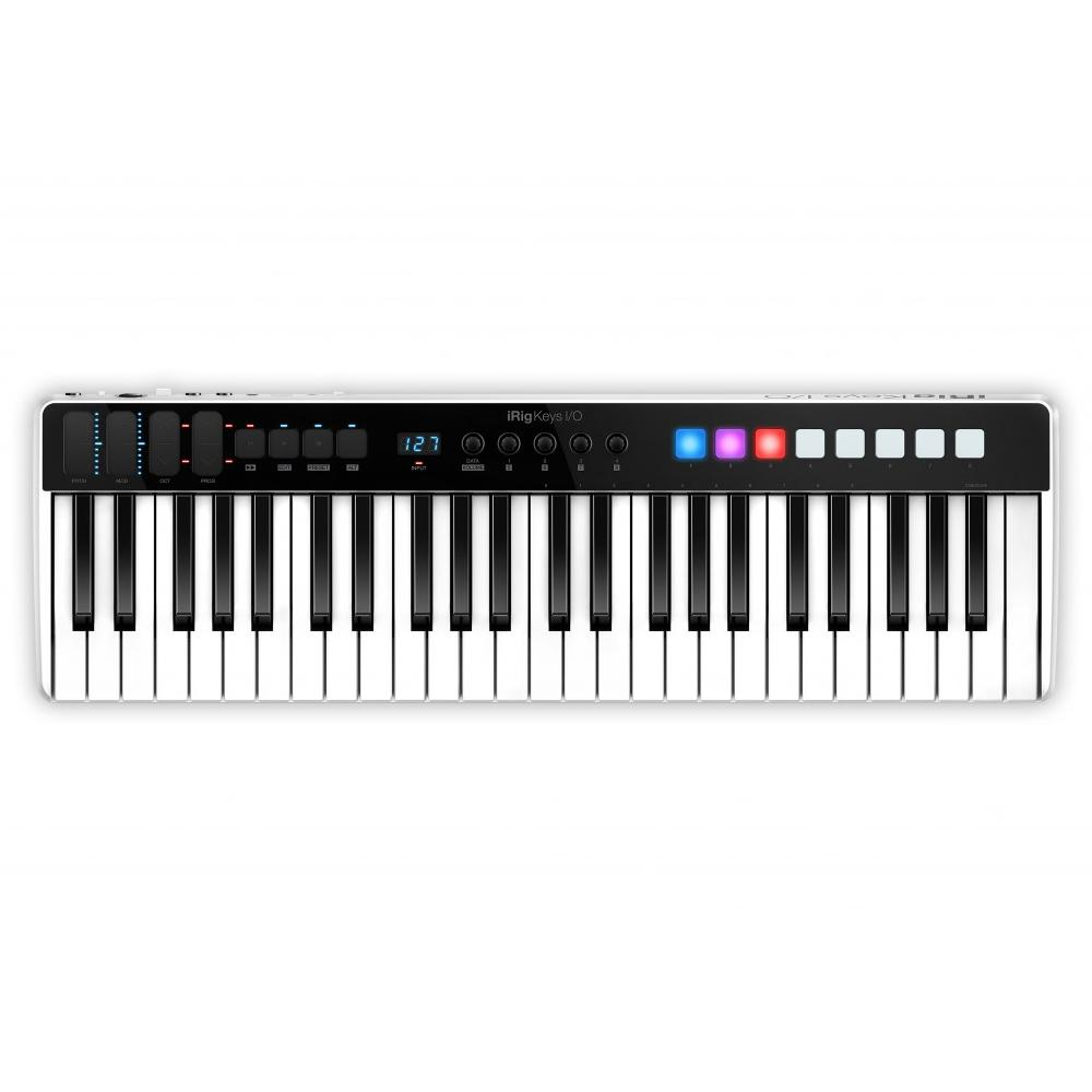 Controller Keyboards - IK Multimedia IRig Keys I/O 49 Key MIDI Keyboard And Audio Interface