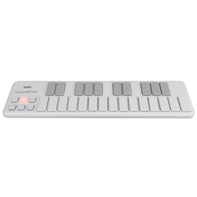 Controller Keyboards - Korg NanoKEY2 25-Key Portable USB Controller Keyboard WHITE