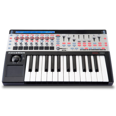 Controller Keyboards - Novation 25 SL MKII MIDI Controller Keyboard With Automap