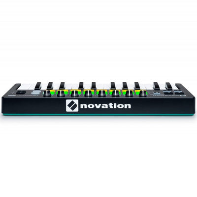 Controller Keyboards - Novation Launchkey MINI Mk2 25-Key Compact MIDI Controller Keyboard