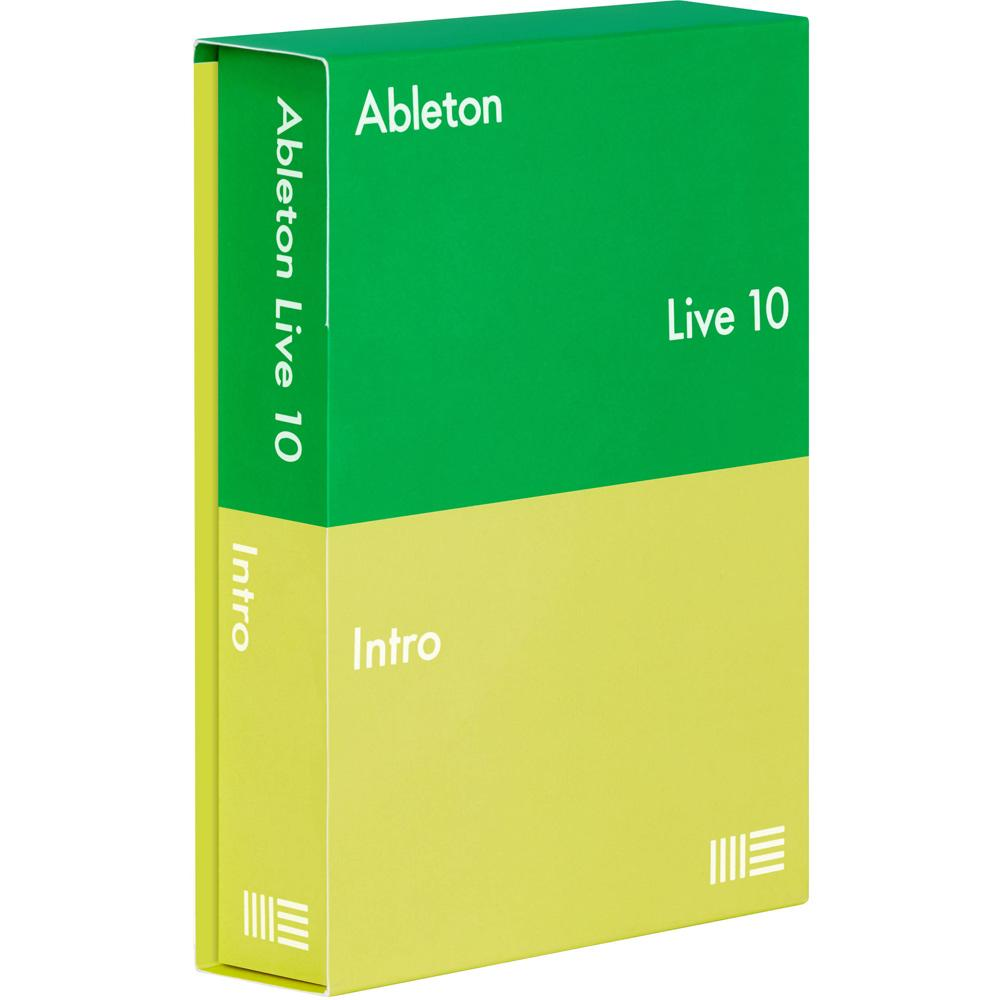 DAW (Digital Audio Workstations) - Ableton Live 10 Intro Music Production Software