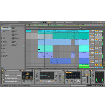 DAW (Digital Audio Workstations) - Ableton Live 10 Standard Music Production Software
