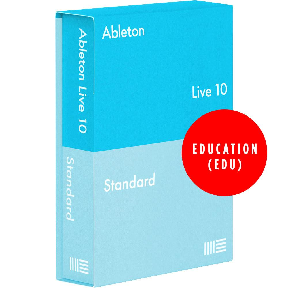 DAW (Digital Audio Workstations) - Ableton Live 10 Standard (Student / Teacher) Education EDU