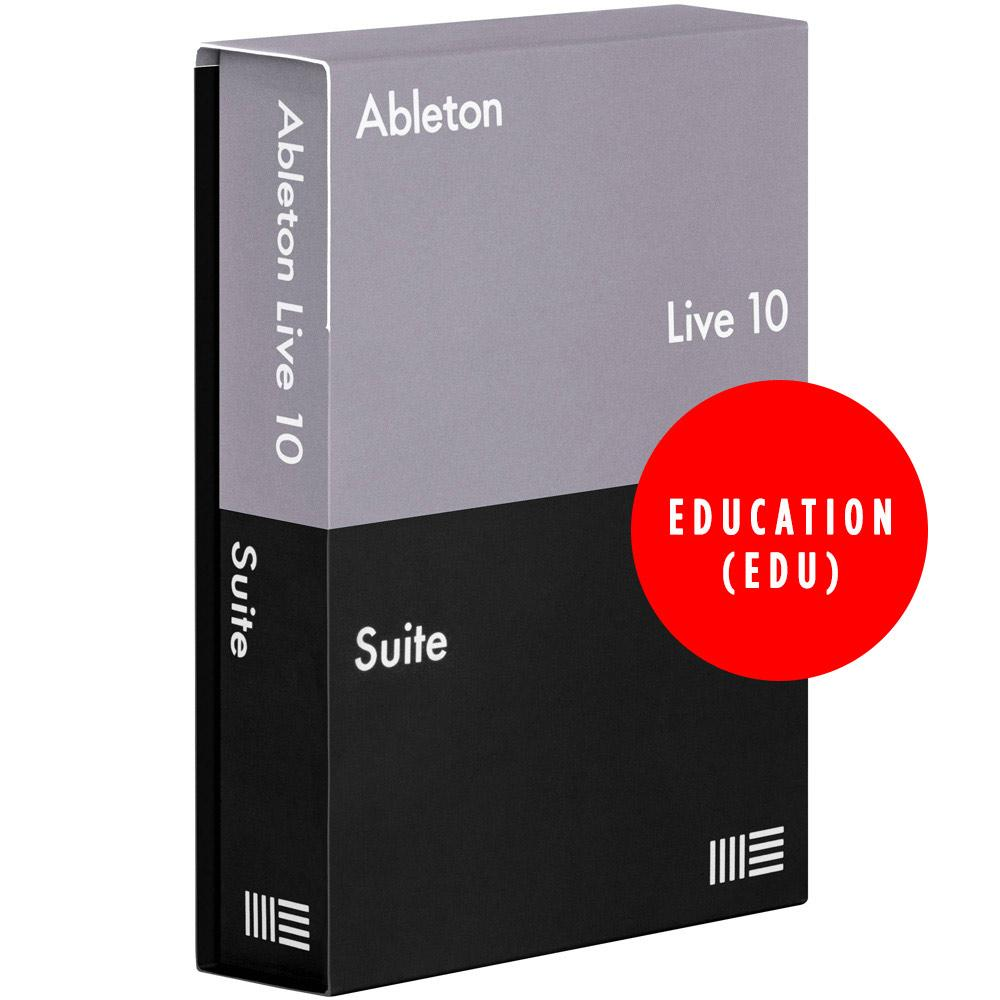 DAW (Digital Audio Workstations) - Ableton Live 10 Suite (Student / Teacher) Education EDU