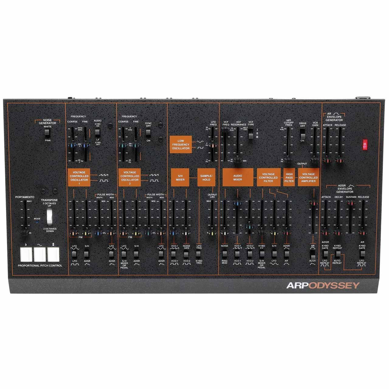 Desktop Synthesizers - Korg ARP ODYSSEY Rev3 Module Duophonic Synthesizer BLACK
