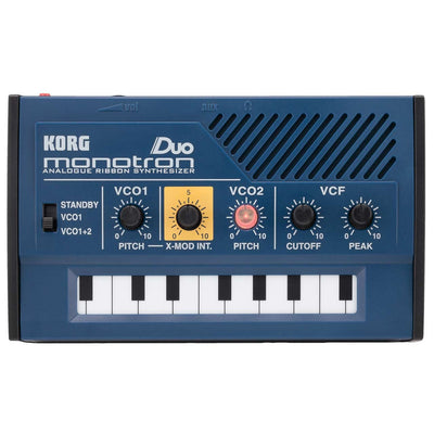 Desktop Synthesizers - Korg Monotron Duo Analogue Ribbon Synthesizer