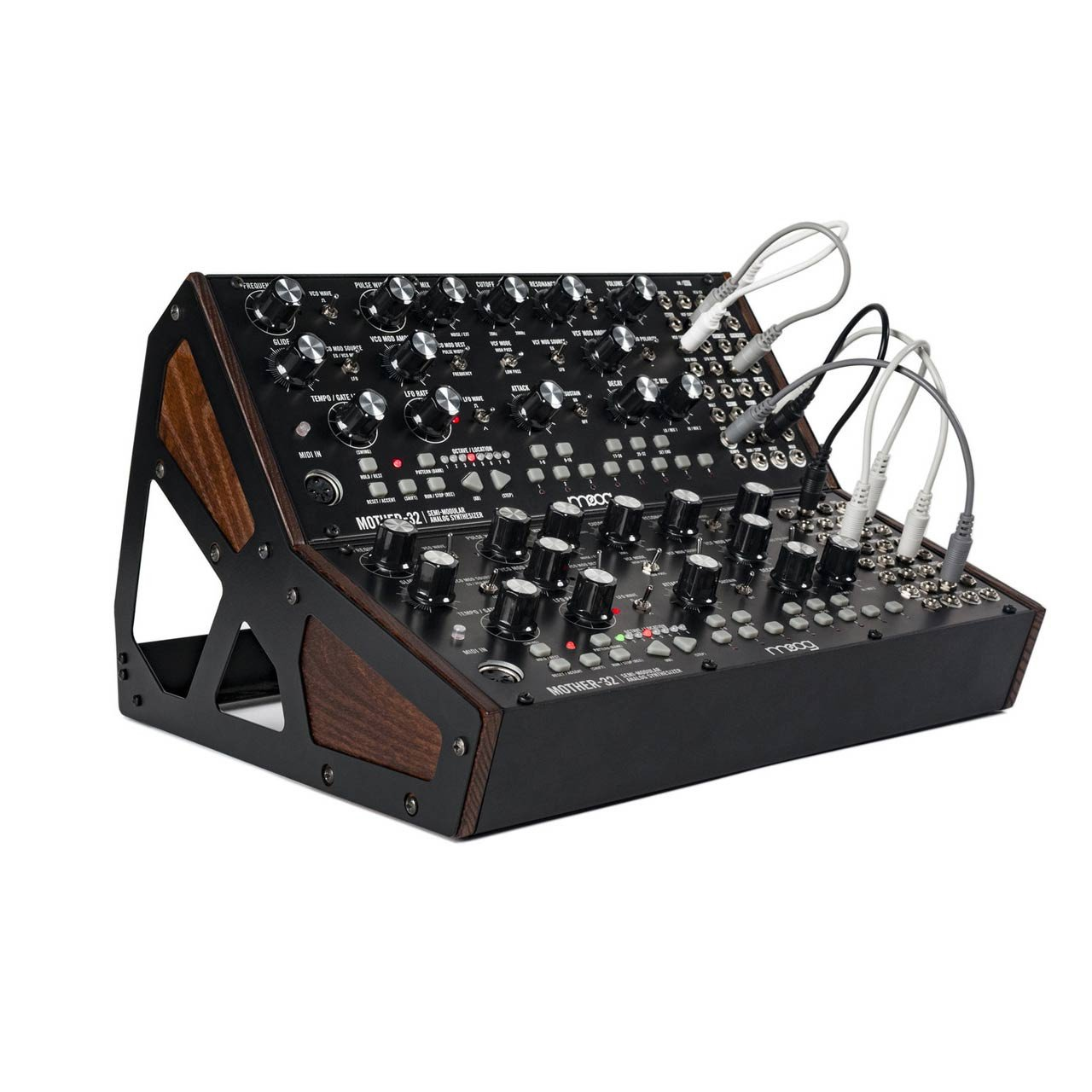 Desktop Synthesizers - Moog Mother 32 Two Tier Rack Kit