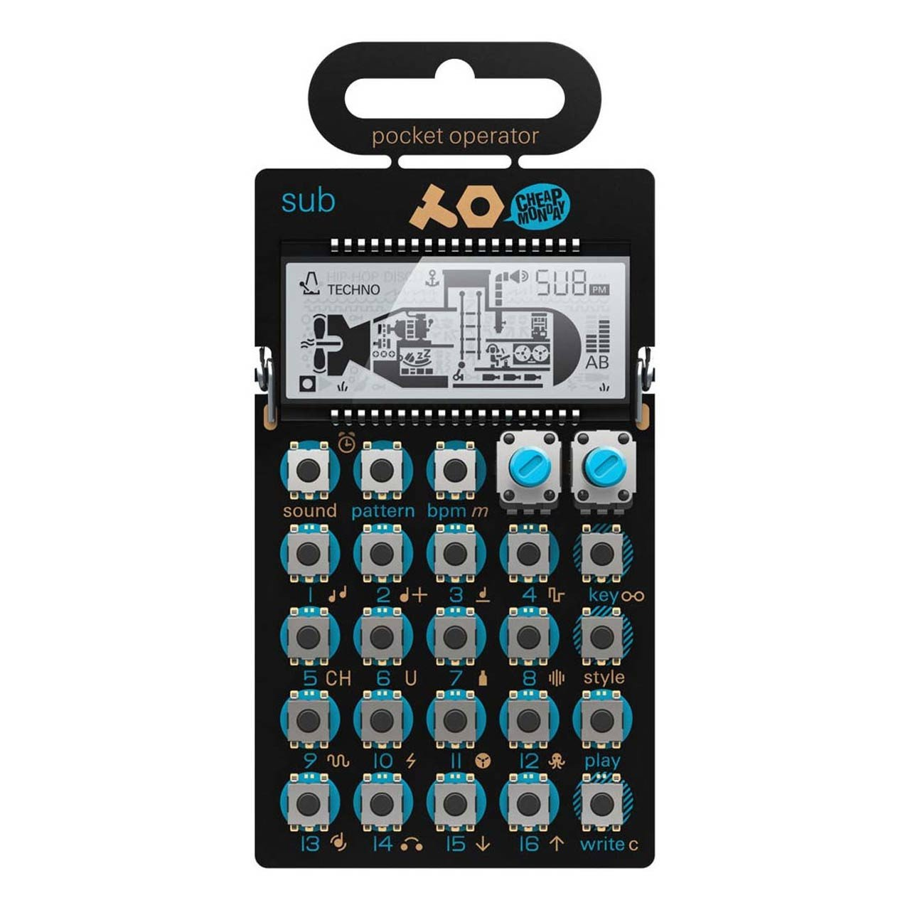 Desktop Synthesizers - Teenage Engineering PO-14 Sub Pocket Operator
