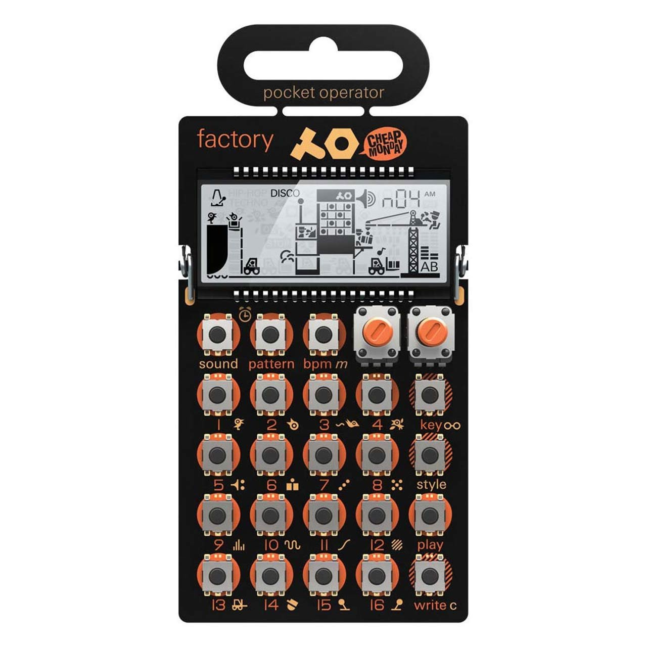 Desktop Synthesizers - Teenage Engineering PO-16 Factory Pocket Operator