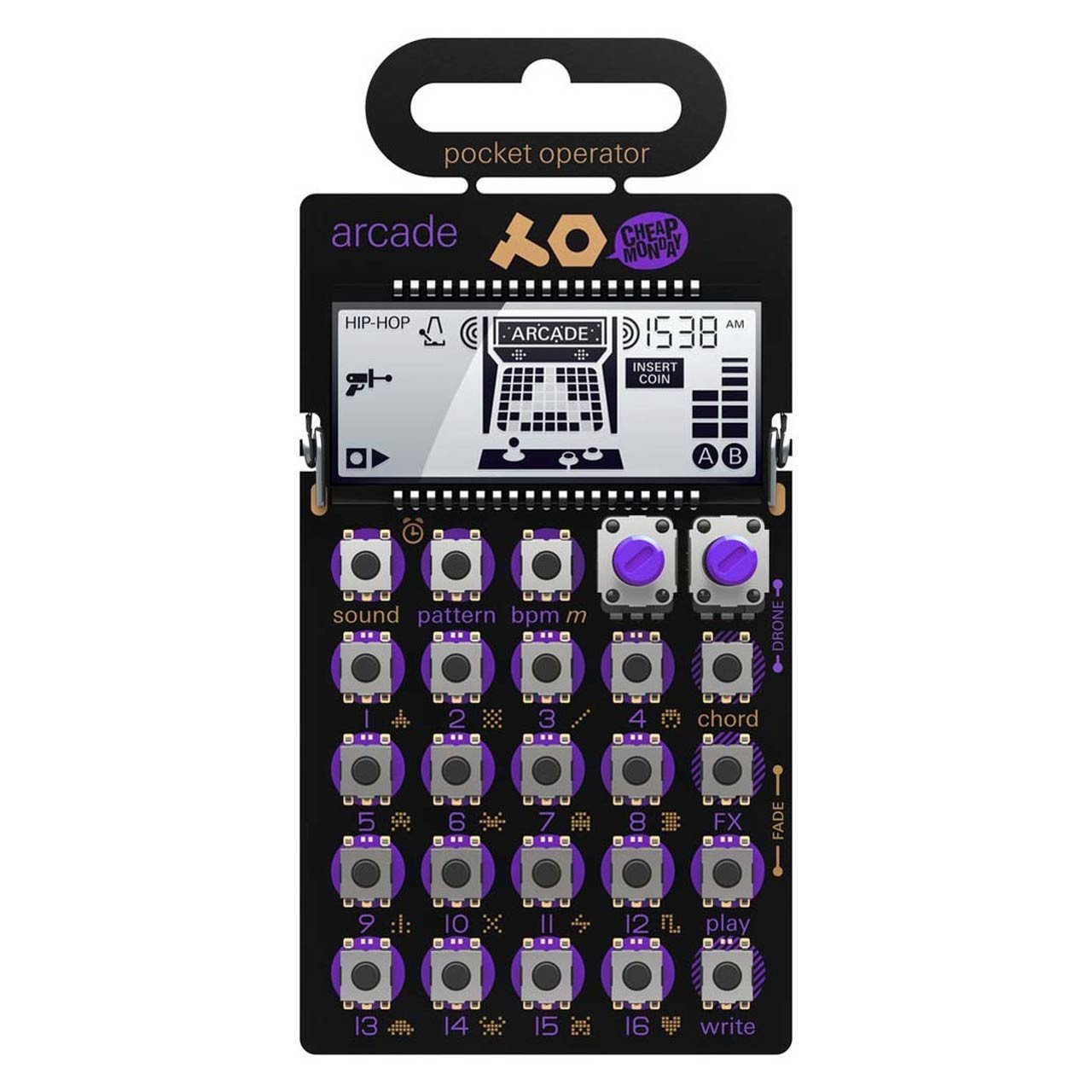 Desktop Synthesizers - Teenage Engineering PO-20 Arcade Pocket Operator