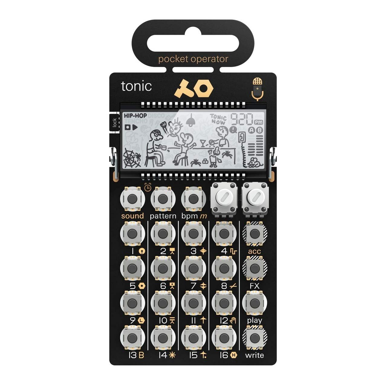 Desktop Synthesizers - Teenage Engineering PO-32 Tonic Drum Synthesiser And Sequencer